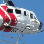 Sheriff's helicopters are being used in the recovery effort off Arctic Circle this morning.