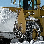 Snowplow operators have been working round the clock.
