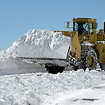 Snow Removal Continues on Arctic Circle Today; Acosta Hopes to Have Highway 18 Cleared This Afternoon