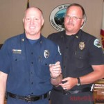 The Big Bear City Fire Department's Family Grows; Captain Huefner Awarded for Meritorious Service