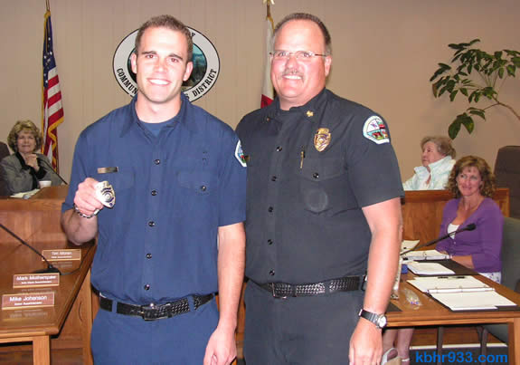 The firefighting Willis family: PCF Brandon and Fire Chief Jeff
