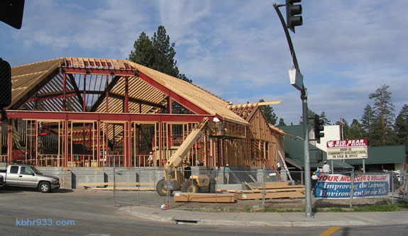 Construction continues at Big Bear Middle School, which had been Big Bear High School until 1985.