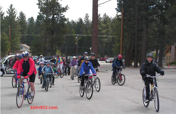 "Though the snow had melted by the Saturday morning ride, cyclists bundled up for the Bike Ride for Ryan on May 24, 2008. All 111 who rode logged their miles in support of local Olympian Ryan Hall as part of the Move A Million Miles for Ryan Hall campaign prior to his Olympic marathon debut. (He placed 10th! ""Run Ryan Run."")"