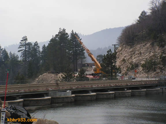 The new Big Bear bridge will be constructed just southwest of the dam, and is expected to be completed in 2011.
