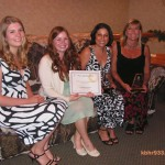 Soroptimists Honor Local Women Bradley, Rojas, Vecchio, Hutchinson and Hahn in Annual Luncheon Held Yesterday