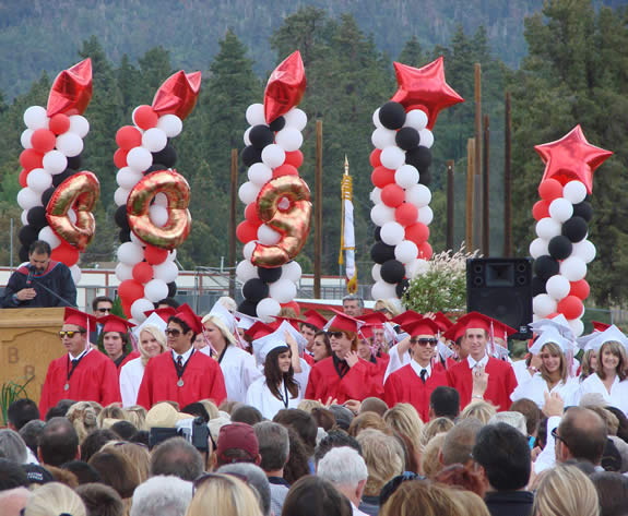 The Class of 2009 was the 80th to graduate from BVUSD.