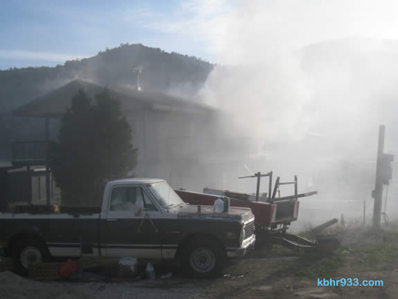 County Fire investigators now suspect arson in Wednesday's structure fire. Have info? Call 800-47-ARSON.