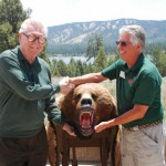 Big Bear Discovery Center Gets An Iconic Big Bear, A Gift from the Tschoops of Sugarloaf
