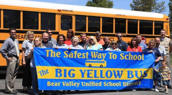 Bear Valley Unified launched a transportation department website, at BigBearSchoolBus.com, which includes downloadable bus schedules.