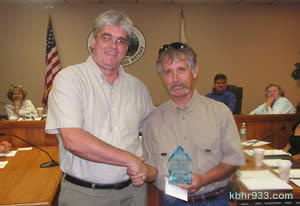 "Of 25-year employee Ralph Musella, Mayer said, ""Ralph has demonstrated that he is a reliable, long-term employee."""