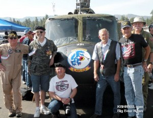 Wings and Rotor Air Museum with Tom Woehl second on left Vietnam Flying Cross Recipient