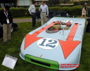Porsche 908/03 at the 2009 Pebble BeachConcours d'Elegance