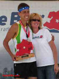 Seventeen-year-old Kevin Magdiel, overall winner in Thursday's meet, had placed second in September's Run the Bear half-marathon, overseen by BBHS teacher Beth Gardner.