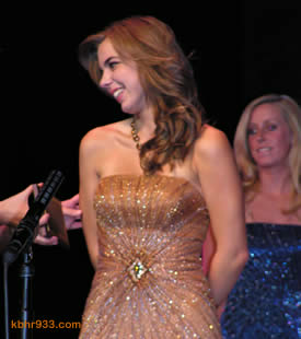 Jonika Kelso was one of three participants singled out for special recognition; pageant photographer Louis Weiner named Kelso the Most Photogenic of the 19 vying for Miss Big Bear.