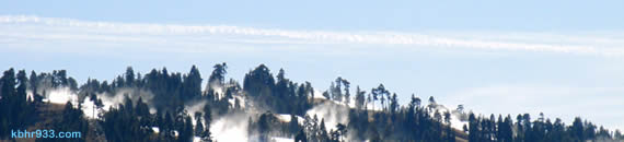 Cold temps have allowed for snowmaking at Snow Summit, which opens--top to bottom--for Thanksgiving weekend.