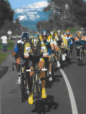 "The City of Big Bear Lake is anticipating major crowds when the Amgen Tour rolls into Big Bear on May 21. ""There is a difference between this and the marathon and the Expo '97,"" noted Mayor Liz Harris. ""The difference being this has several years experience, and towns (on the route) have experienced an increase in tourism."" It is anticipated that over 2 million spectators will line the race course, which includes eight stages; Big Bear hosts Stage 6 for the big climb."
