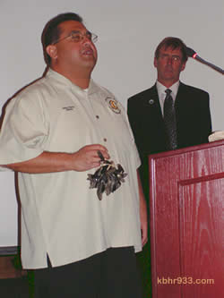 James Ramos at a City Council Meeting in 2009