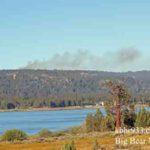 Small Fire Near Bluff Lake