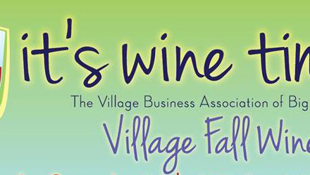 Big Bear Lake Village Business Association Hosts the Village Fall Wine Walk