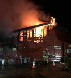 Pong's Restaurant Heavily Damaged in Early Morning Fire