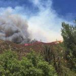 Bluecut Fire – Wednesday Update