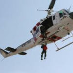 Hoist Rescue Required for Hiker at Castle Rock