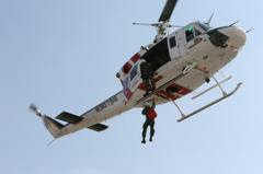 Hiker rescued by Sheriff's Aviation on the Pacific Crest Trail