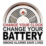 Change Your Clocks and Batteries This Weekend