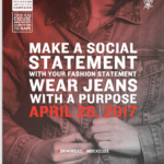 Wear Denim on April 26 for Sexual Assault Awareness Month