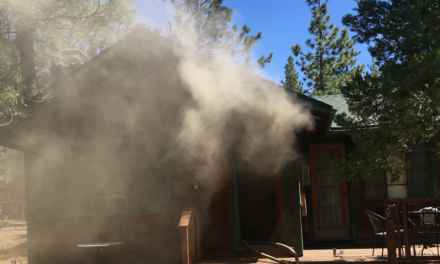 Big Bear Lake Home Damaged by Fire
