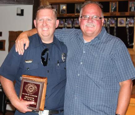 Big Bear Fire Department Names Firefighter of the Year