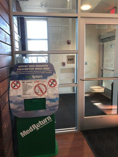 The Prescription Drug Take Back Box Has a New Home