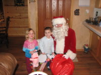 Rotary Club Helps Santa Visit Children in the Valley