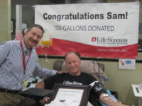 Forest Falls Resident Reaches 100 Gallons in Blood Donations