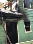 Lake William Home Burns in Fire Yesterday