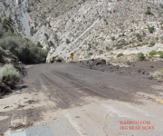 Mudslides Prompt Temporary Road Closures