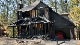 Fire Engulfs Big Bear City Home
