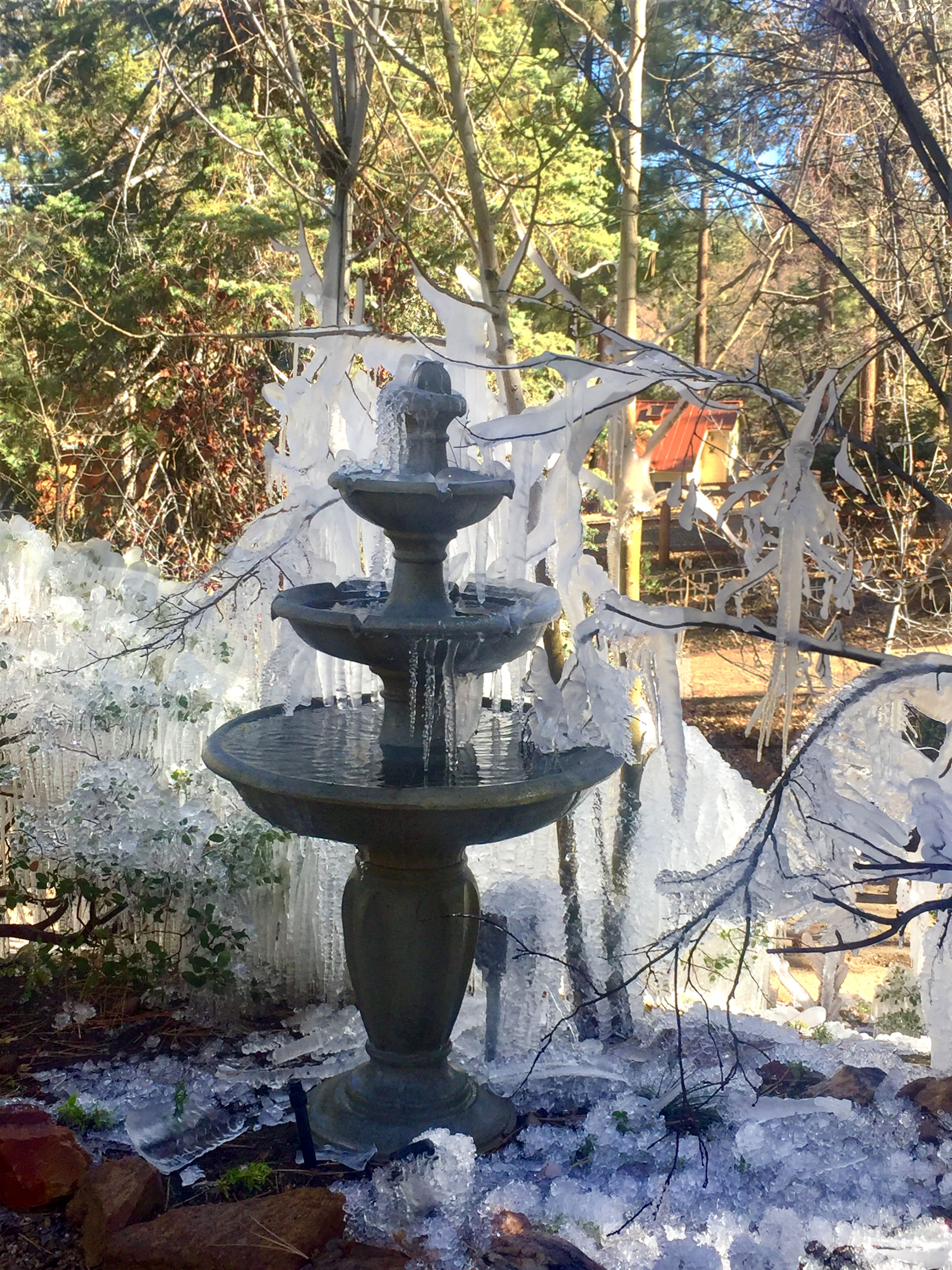 Frozen Pipes Burst Around Big Bear Valley