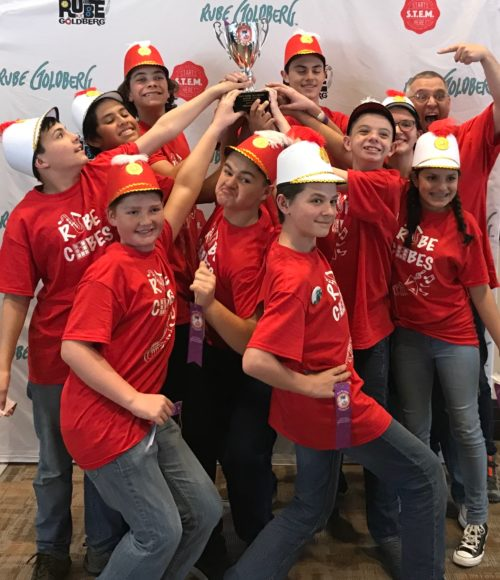 Big Bear Middle School Takes 2nd Place at Annual Rube Goldberg Machine Contest