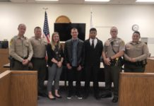 Big Bear Sheriff's Station Welcomes New Explorer Scouts