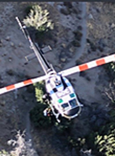 Pacific Crest Trail Air Rescue