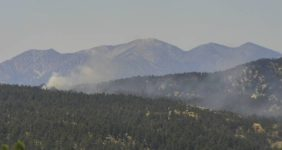 Fire and Smoke Reported in Big Bear Valley Fire Department Quickly Responds