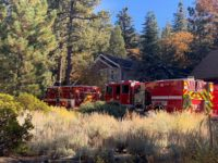 Fawnskin Structure Fire Knocked Down Quickly