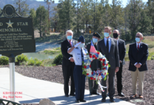 Big Bear Lake Memorial Day - Somber Event - Obernolte and Herrick Preside