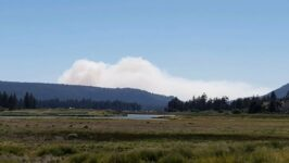 Mount R Fire, Evacuations and Road Closures