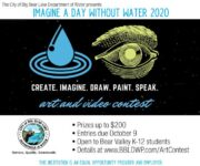 """Big Bear Lake DWP offers """"The Value of Water"""" Art and Video Contest"""
