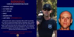 MISSING PERSON: Carlos Baltazar