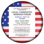 Big Bear Chamber Hosts Candidates Forum on Monday