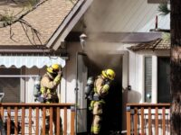 Residential Structure Fire in Big Bear City