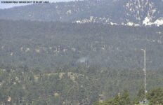 Illegal campfire causes small fire south of Big Bear Lake
